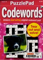 Puzzlelife Ppad Codewords Magazine Issue NO 45