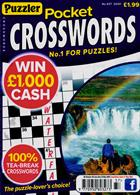 Puzzler Pocket Crosswords Magazine Issue NO 437