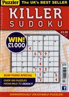 Puzzler Killer Sudoku Magazine Issue NO 171