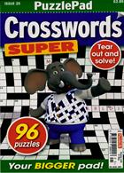 Puzzlelife Crossword Super Magazine Issue NO 25