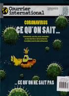 Courrier International Magazine Issue NO 1540