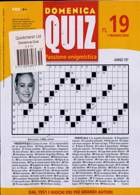 Domenica Quiz Magazine Issue NO 19