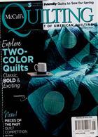 Mccalls Quilting Magazine Issue MAY-JUN