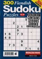300 Fiendish Sudoku Puzzle Magazine Issue NO 68