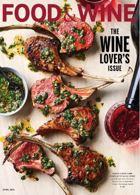 Food & Wine Usa Magazine Issue APR 20