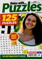 Relax With Puzzles Magazine Issue NO 8