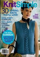 Knit Simple Magazine Issue SPR/SUM