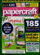 Papercraft Essentials Magazine Issue NO 188
