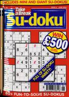 Take A Break Sudoku Magazine Issue NO 6