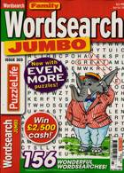 Family Wordsearch Jumbo Magazine Issue NO 303