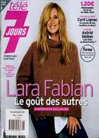 Tele 7 Jours Magazine Issue NO 3125