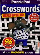 Puzzlelife Crossword Super Magazine Issue NO 26