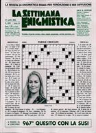 La Settimana Enigmistica Magazine Issue NO 4595