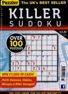 Puzzler Killer Sudoku Magazine Issue NO 172