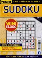 Puzzler Sudoku Magazine Issue NO 203