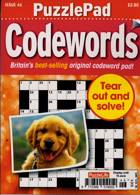 Puzzlelife Ppad Codewords Magazine Issue NO 46