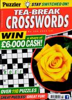 Puzzler Tea Break Crosswords Magazine Issue NO 294