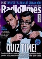 Radio Times London Edition Magazine Issue 30/05/2020