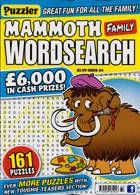 Puzz Mammoth Fam Wordsearch Magazine Issue NO 64