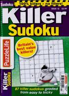 Puzzlelife Killer Sudoku Magazine Issue NO 12