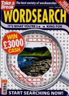 Take A Break Wordsearch Magazine Issue NO 6
