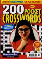 200 Pocket Crosswords Magazine Issue NO 61