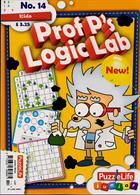 Puzzlelife Junior Silver Magazine Issue PROF LOG14