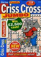 Family Criss Cross Jumbo Magazine Issue NO 85