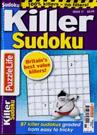 Puzzlelife Killer Sudoku Magazine Issue NO 11