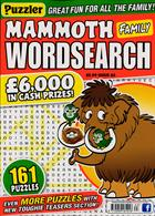 Puzz Mammoth Fam Wordsearch Magazine Issue NO 63