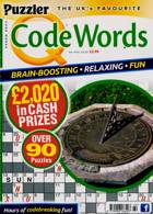Puzzler Q Code Words Magazine Issue NO 460
