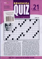 Domenica Quiz Magazine Issue NO 21
