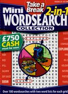 Tab Mini 2 In 1 Wordsearch Magazine Issue NO 25