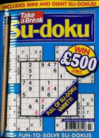 Take A Break Sudoku Magazine Issue NO 7