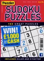 Puzzler Sudoku Puzzles Magazine Issue NO 196