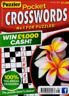 Puzzler Pocket Crosswords Magazine Issue NO 438