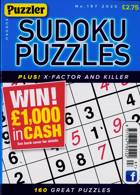 Puzzler Sudoku Puzzles Magazine Issue NO 197