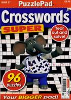 Puzzlelife Crossword Super Magazine Issue NO 27
