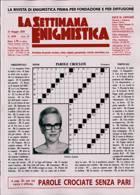 La Settimana Enigmistica Magazine Issue NO 4599