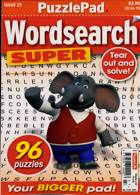 Puzzlelife Wordsearch Super Magazine Issue NO 27