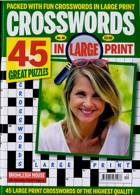 Crosswords In Large Print Magazine Issue NO 40