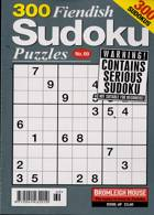 300 Fiendish Sudoku Puzzle Magazine Issue NO 69