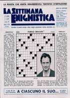 La Settimana Enigmistica Magazine Issue NO 4606