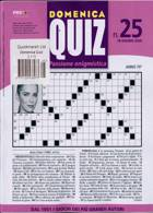 Domenica Quiz Magazine Issue NO 25