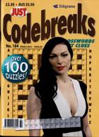 Just Codebreaks Magazine Issue NO 184
