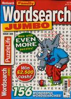 Family Wordsearch Jumbo Magazine Issue NO 305