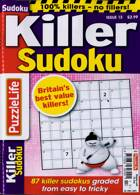 Puzzlelife Killer Sudoku Magazine Issue NO 13
