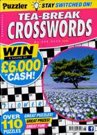 Puzzler Tea Break Crosswords Magazine Issue NO 295