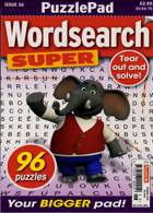 Puzzlelife Wordsearch Super Magazine Issue NO 26