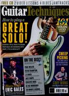 Guitar Techniques Magazine Issue OCT 20